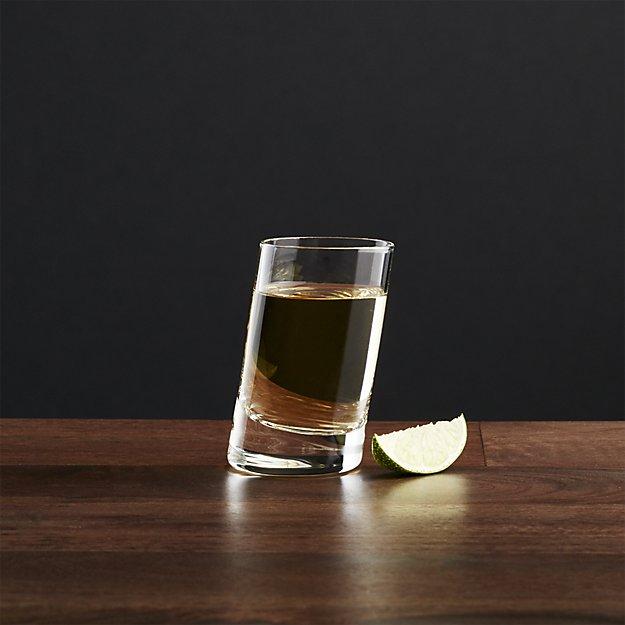 Slant Shot Glass