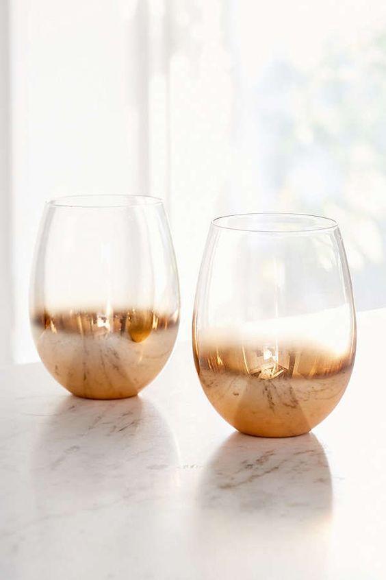 Copper Ombre Glasses