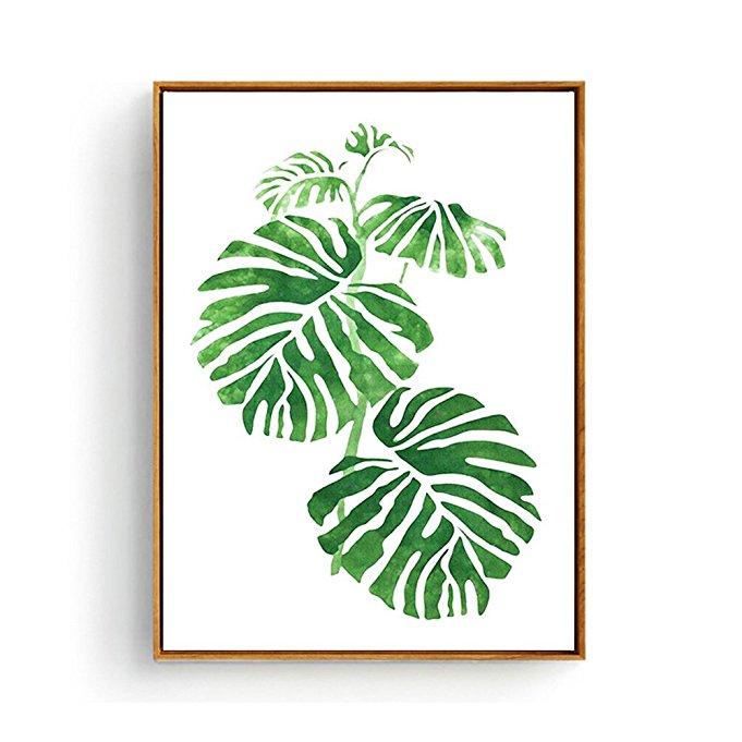 Monstera Leaf Wall Art