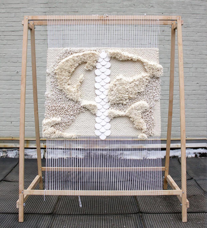 Custom Installation Created by Animal Teng for Lorla Studio's Room at Design on a Dime, NYC 2018,Image via  Animal Teng