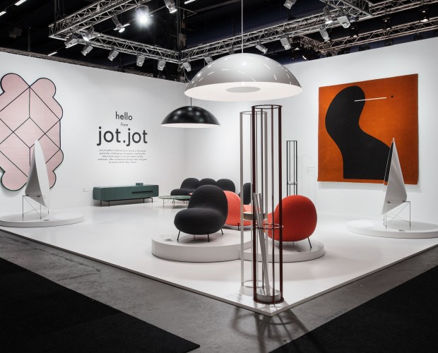 Photo of  J  ot.Jot  booth ICFF, New York 2018