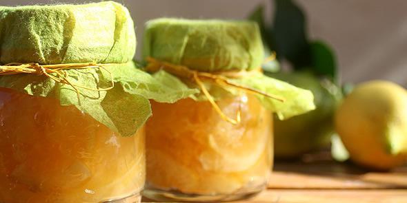 - le marmellate NATURALi come una volta.anche al limone.