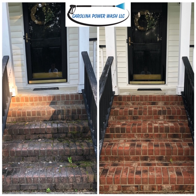 Pressure washing in Garner, NC