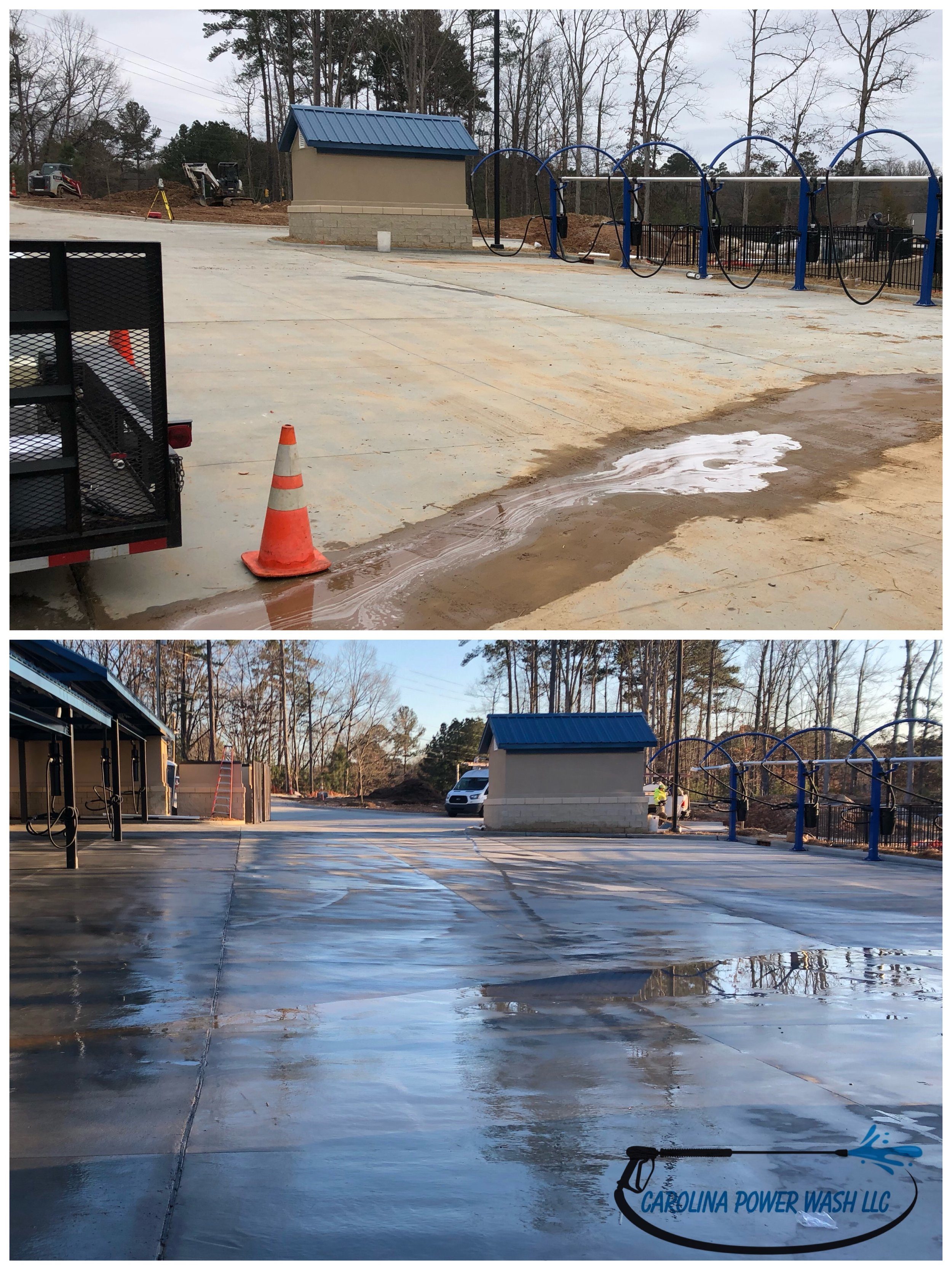 Power Washing in Apex, NC