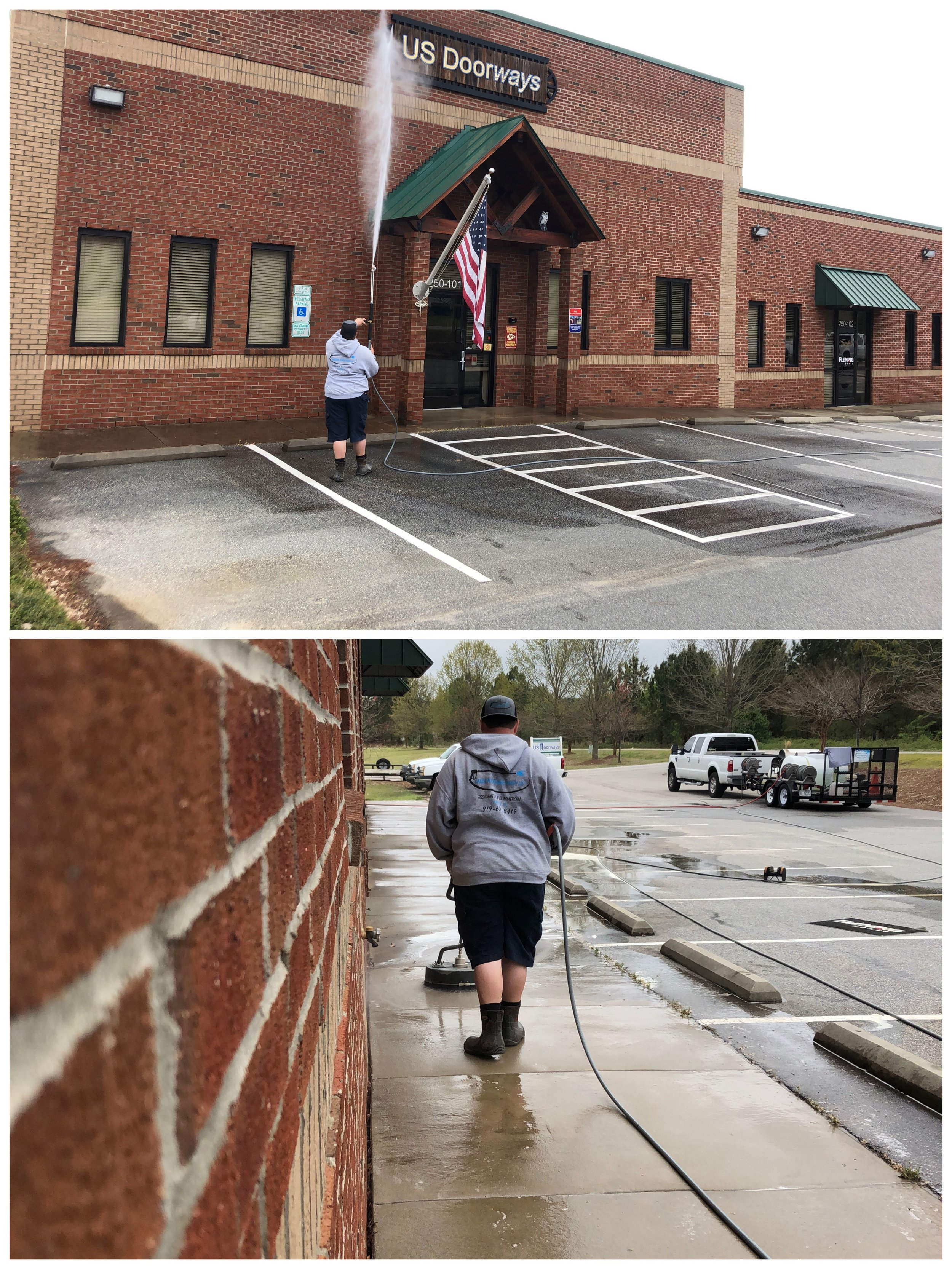 Power Washing in Garner, NC