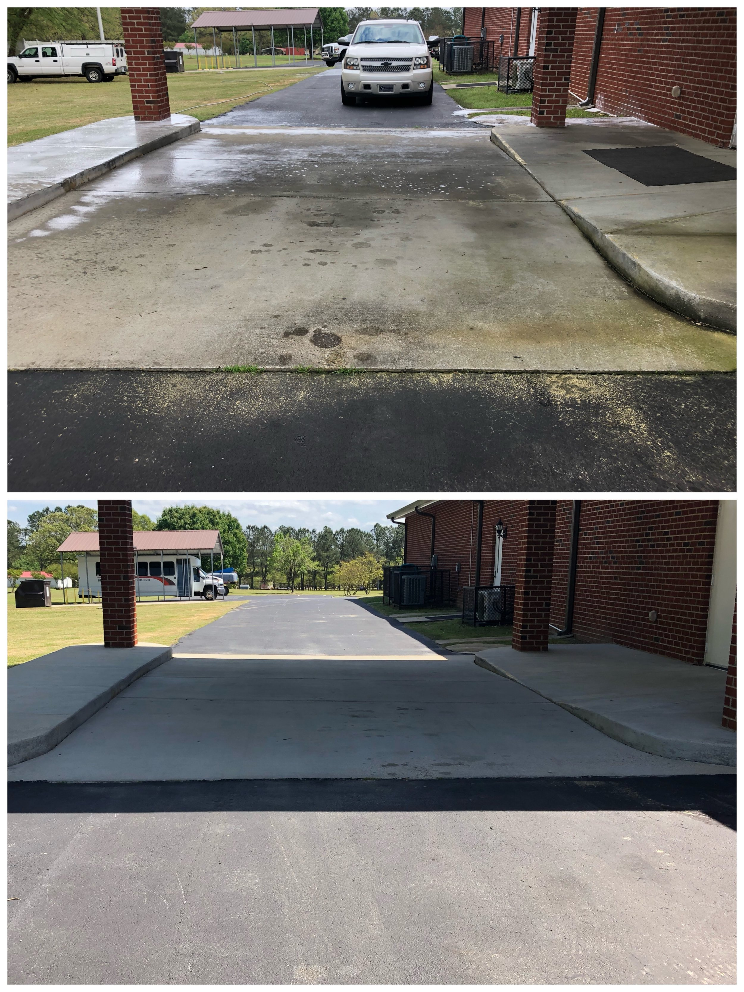 Power washing in Angier, NC