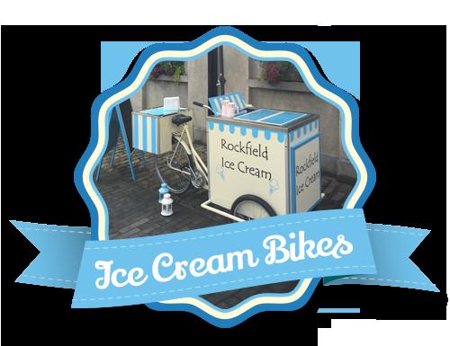 Vintage Styled Ice Cream Bikes