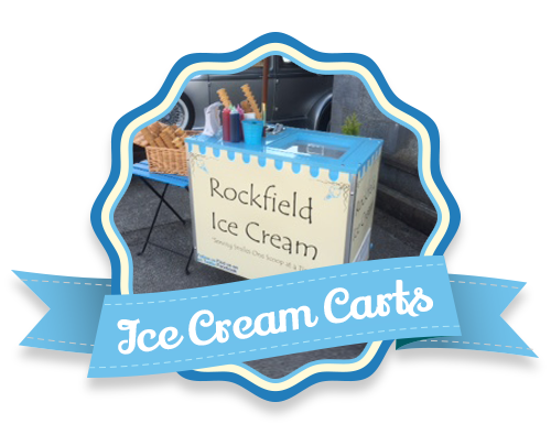 Vintage Styled Ice Cream CARTS