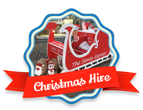 Christmas Sleighs, Carts and more