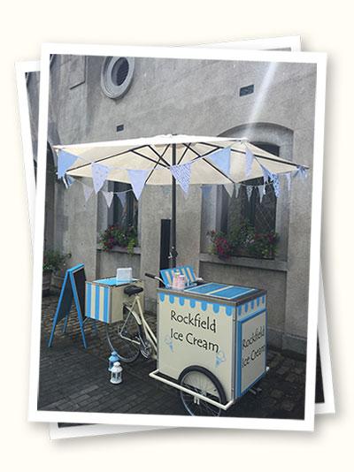 vintage Styled ice cream Bike