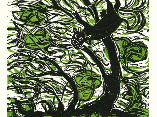 "Sherraid Scott/ Dayton Printmakers Cooperative [""STORM""]"