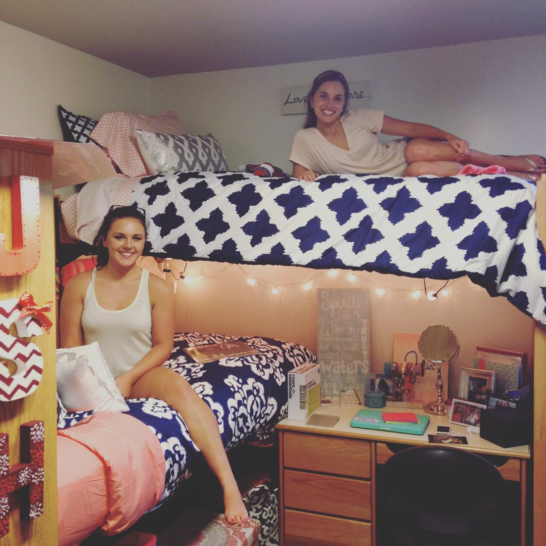 First day in our dorm!