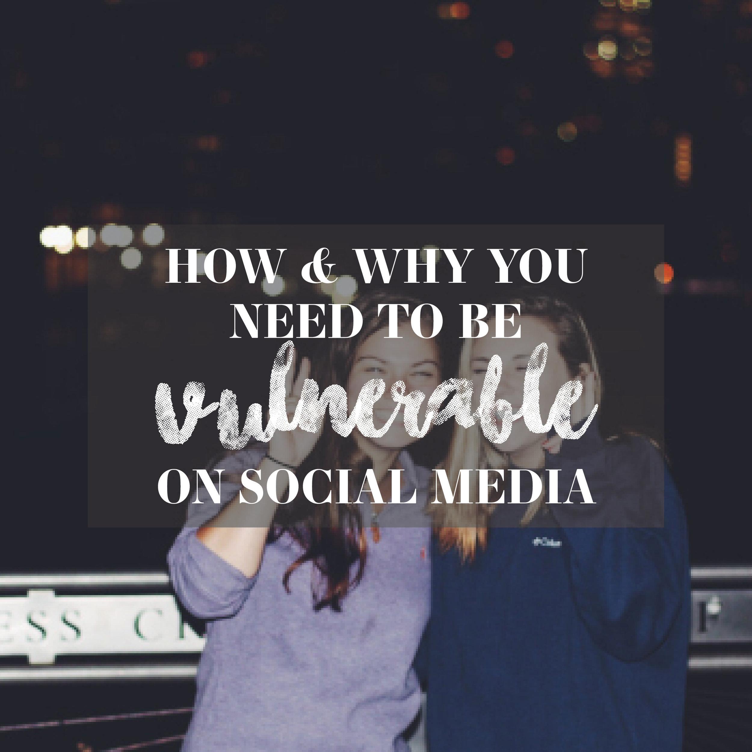 Vulnerability on Social Media