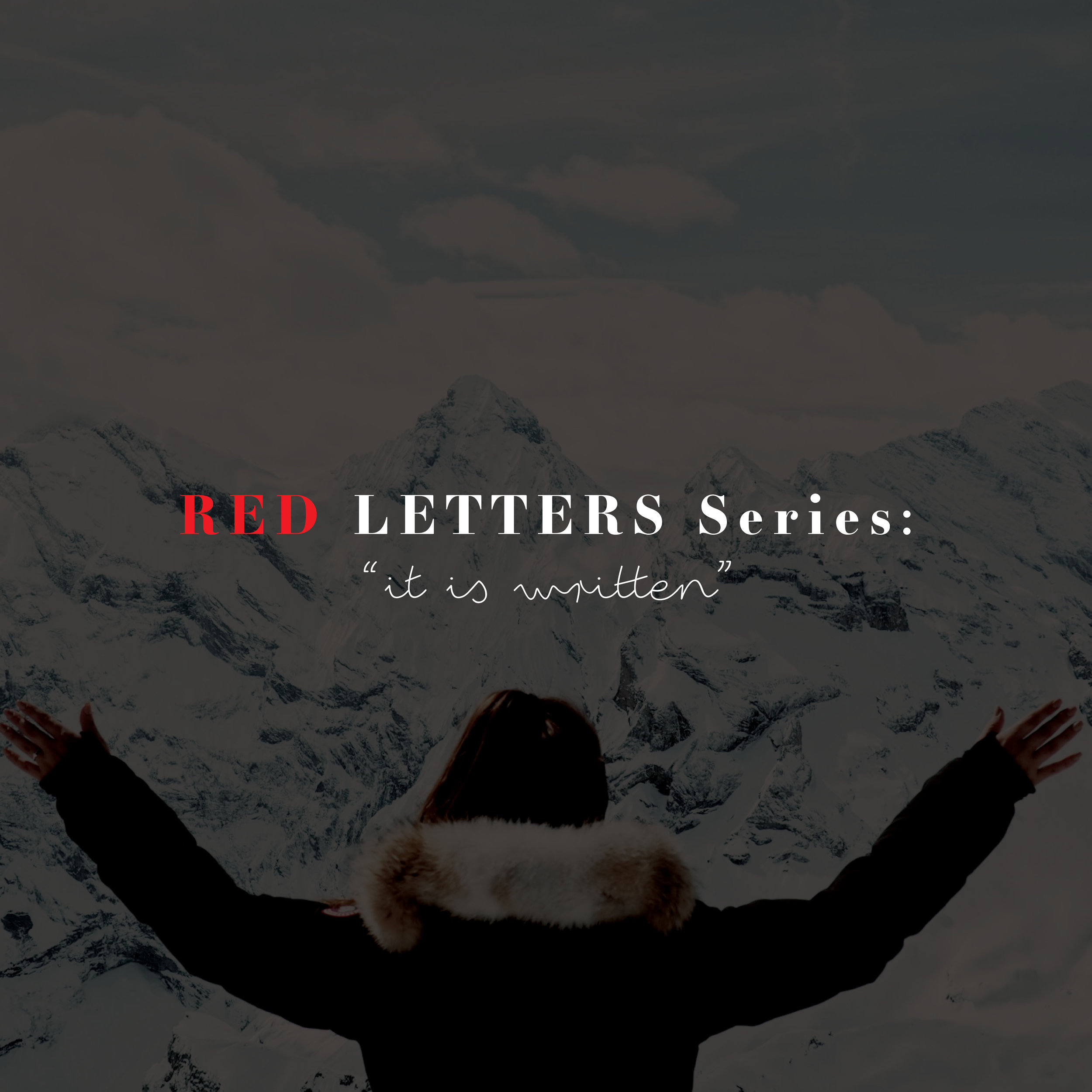 Red Letters Series