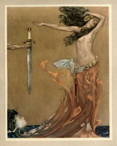 """La Morte D'Arthur"" by William Russell Flint"