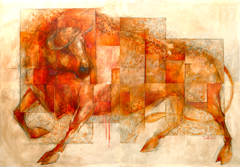 Metamorphoses Bull by Doncho Donchev