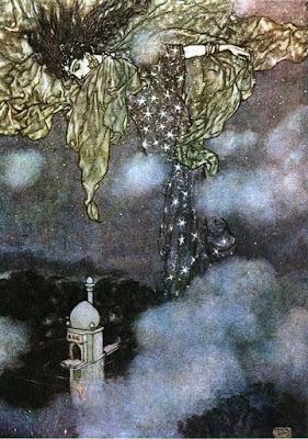 """Sleeve of Night"" by Edmund Dulac"