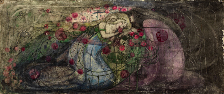 """Sleeping Princess"" by Frances MacDonald"