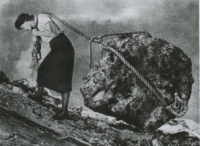 Sisyphus (as woman)