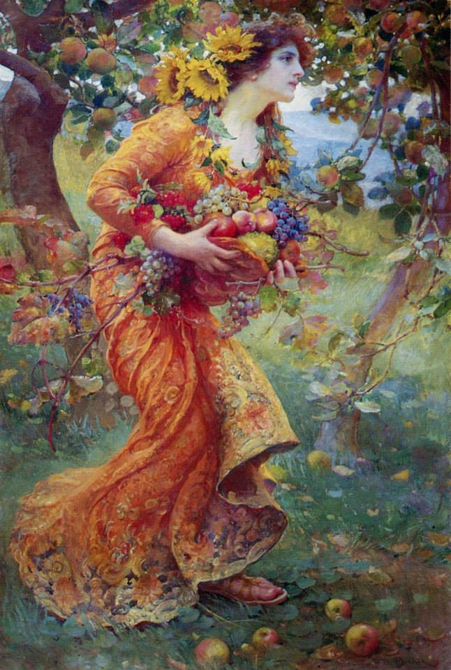 """In the Orchard"" by Franz Dvorak (1912)"