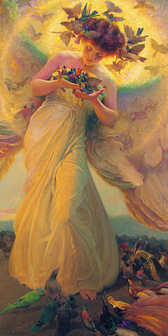 """Angel of the Birds"" by Franz Dvorak"