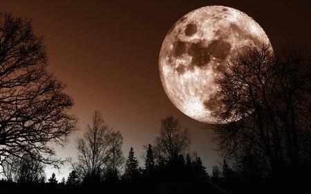 Full Hunter Moon October 13th
