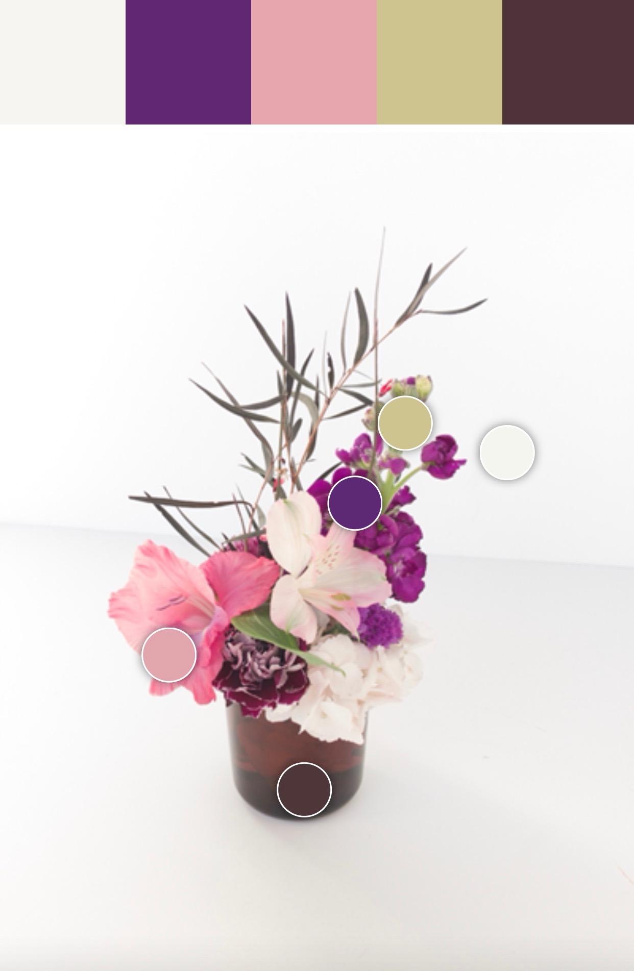 Petalfox Ultra Violet Floral Collection