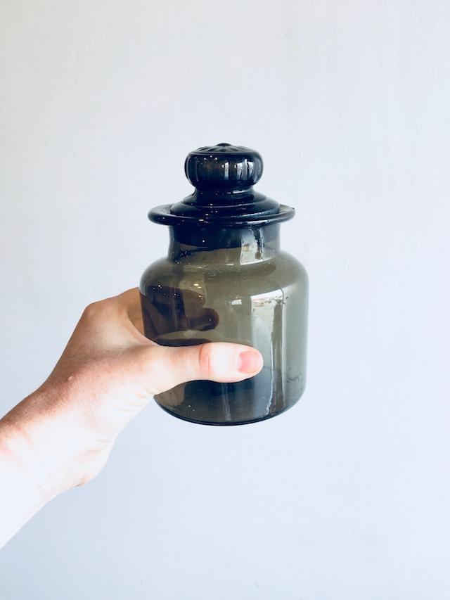 Petalfox Vintage Green Glass Jar.jpg