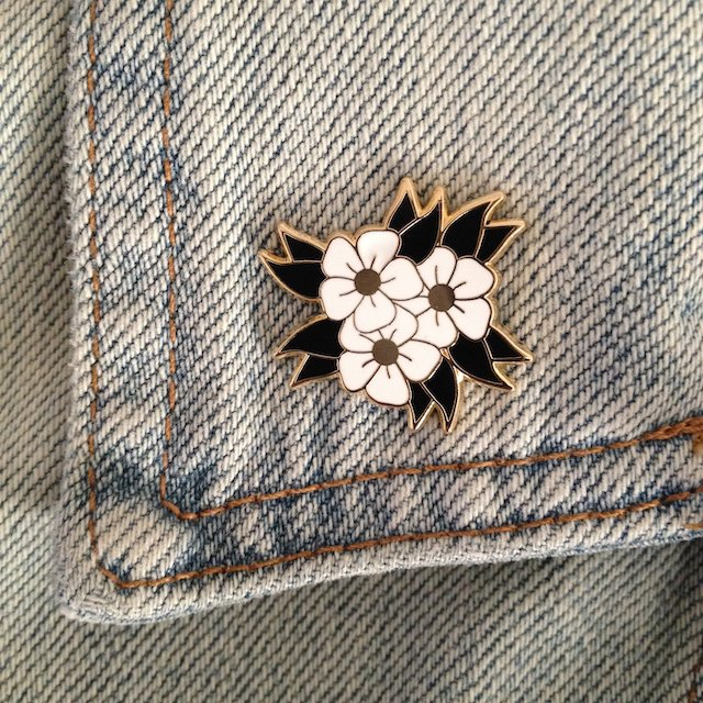 Shop this white flower  by double denim dude