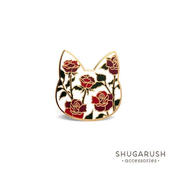 Shop  this rosey cat  from Sugarush