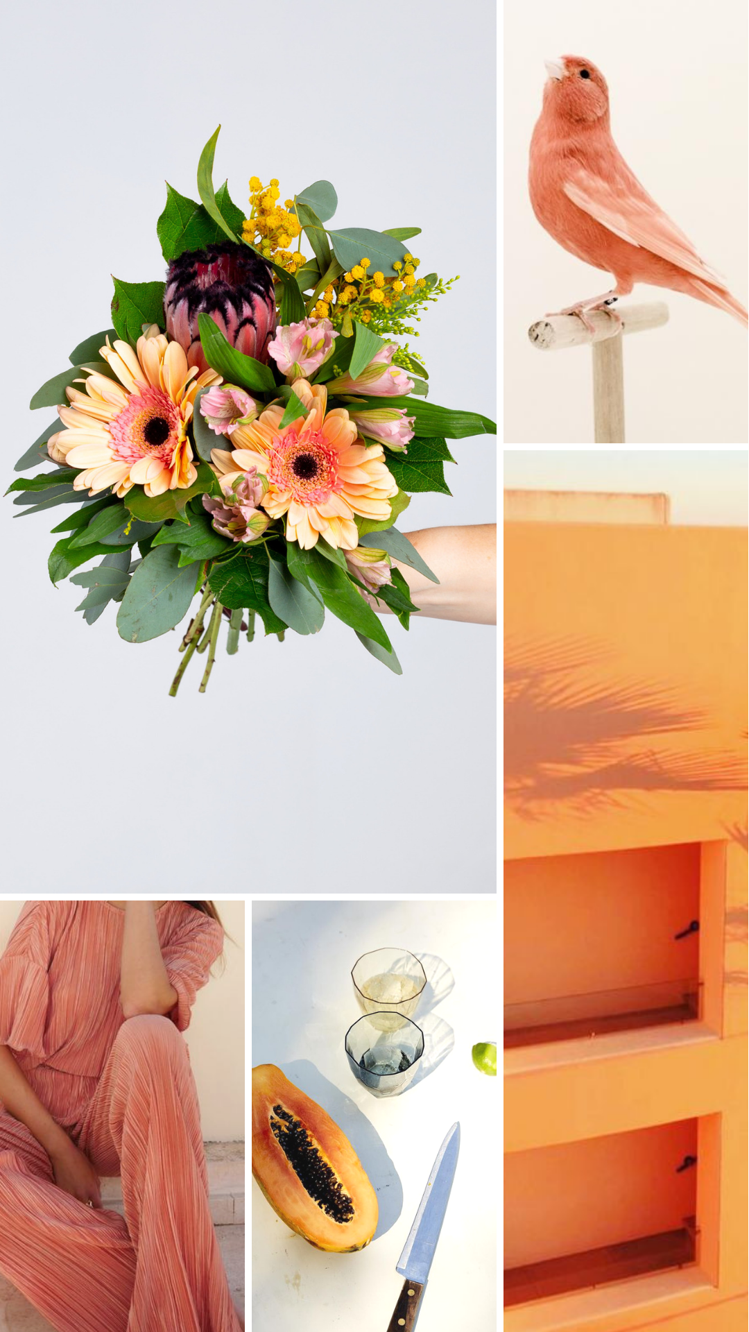 Buy things that make you happy. - Start with flowers.
