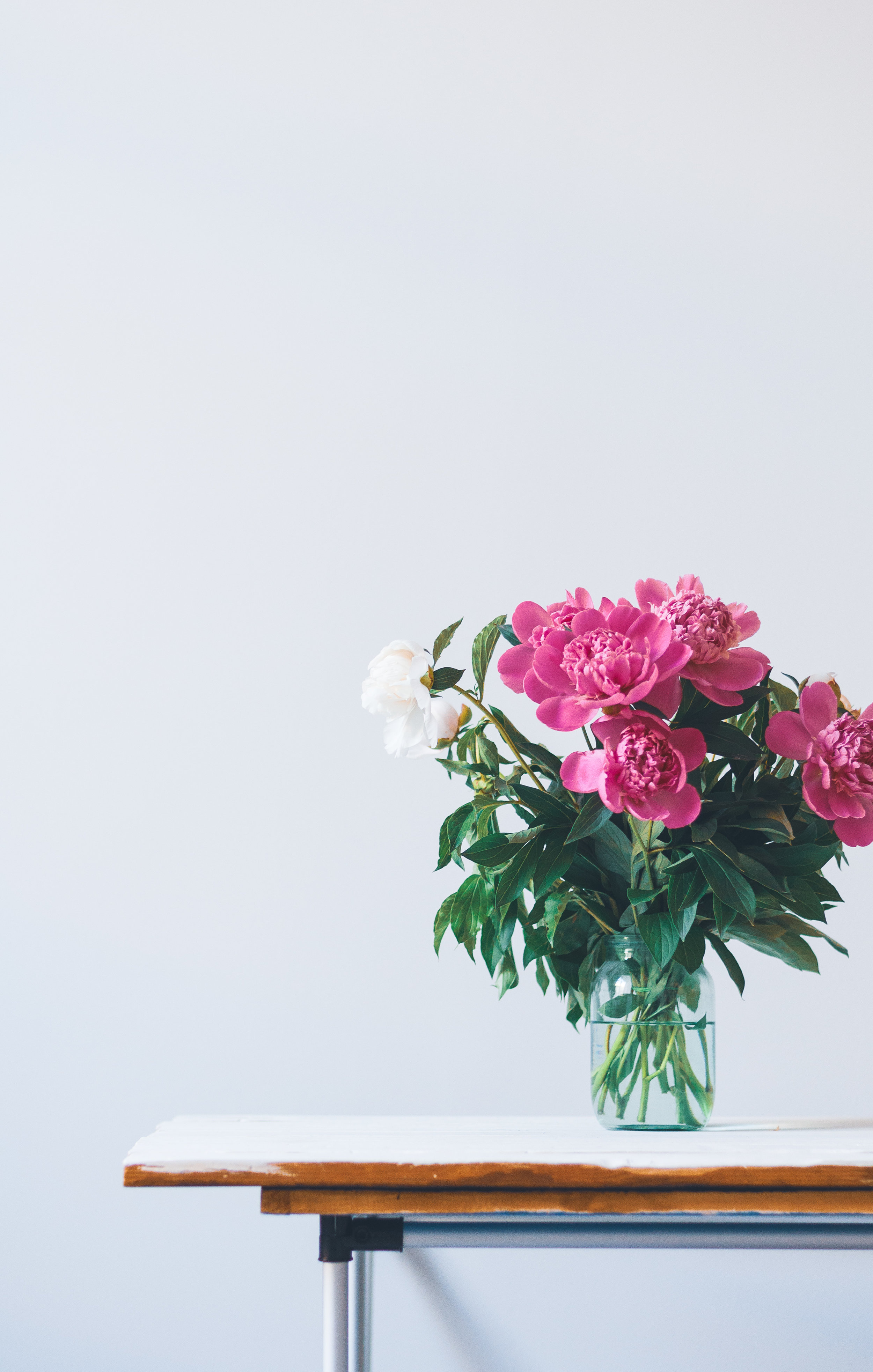 Choose a vase, then get flowers on repeat. - See our past flower recipes.