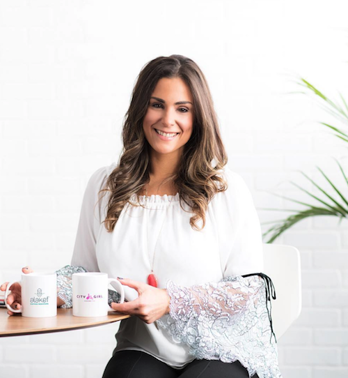 Female founder, Alyza Bohbot, took over her family business and started City Girl Coffee.