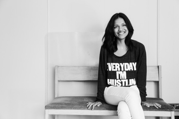 Female Founder & Tea Drop CEO, Sashee Chandran, left her corporate tech job to build a company around easy tea :)