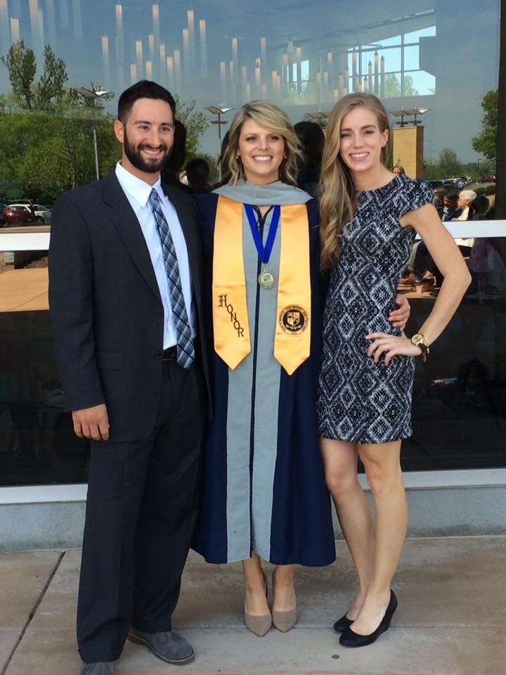 April 2016 Dr. Libby Graduates.