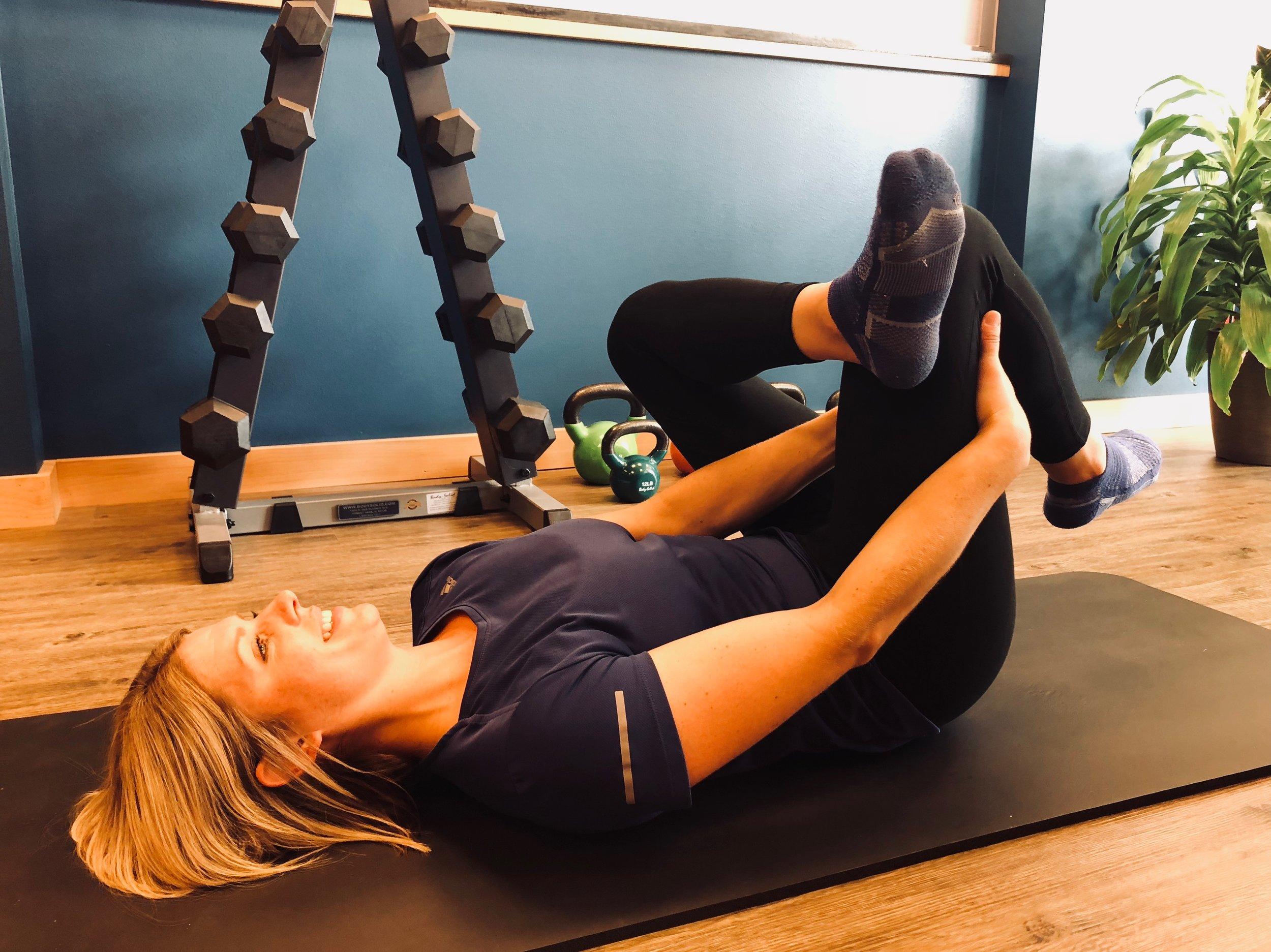 Figure Four Stretch - Advanced