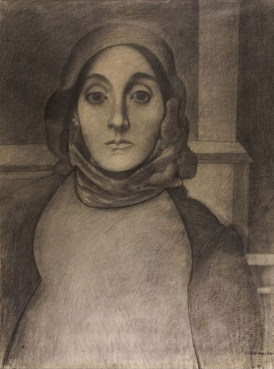 What is painting from life?  Do we always paint from life  Is that a question or a statement...  I guess both.    Arshile Gorky  The Artist Mother, 1926 or 1936 The Art Institute of Chicago