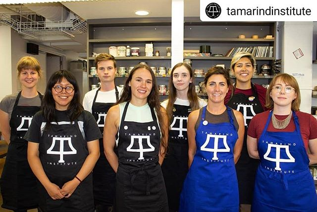 Such an amazing group of humans! I am so honored to be going through this program with them 💜 . . . . #Repost @tamarindinstitute • • • • • Introducing our new class of students who arrived this week for the intensive one year Tamarind Printer Training Program.  From left to right: Julie Bellavance, Quebec City, Quebec, Canada; Cynthia Juarez, Chicago, Illinois; Andrew Eckhardt, Brisbane, Queensland, Australia; Irene Bednarczyk, Waterbury, Connecticut; Sarah Plummer, Sydney, New South Wales, Australia; Alyssa Ebinger, Brainerd, Minnesota; Maggie Middleton, Reston, Virginia; Justine Ditto, Houston, Texas. Watch for their Student Impressions as the semester unfolds. Training led by Director of Education Brandon Gunn.  Photo by Nick Griffith.  #tamarindinstitute #printertraining #tamarindprinter #lithocrew #tamarindprintersaroundtheworld