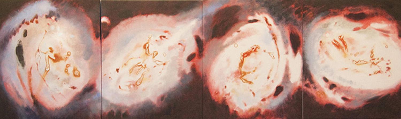 Transitions, 4 panels, 24h x 80w