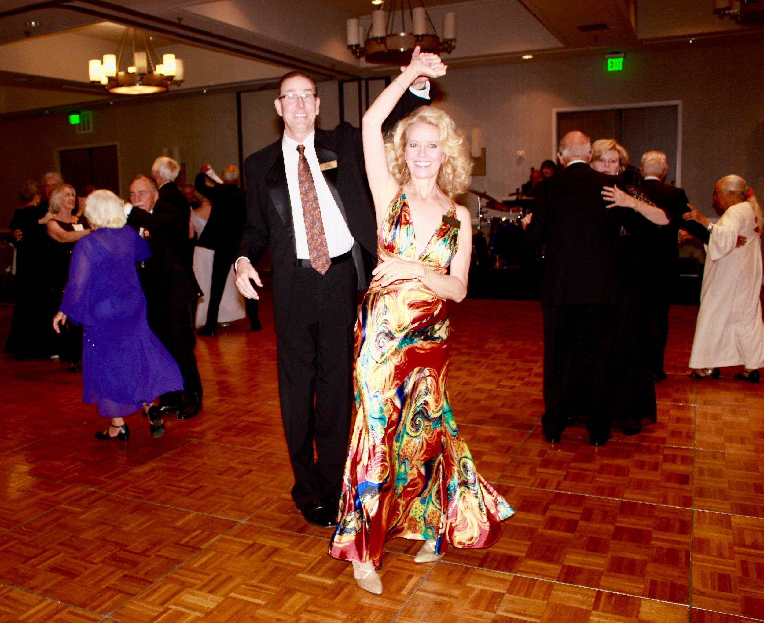 Ballroom dancing in San Diego -