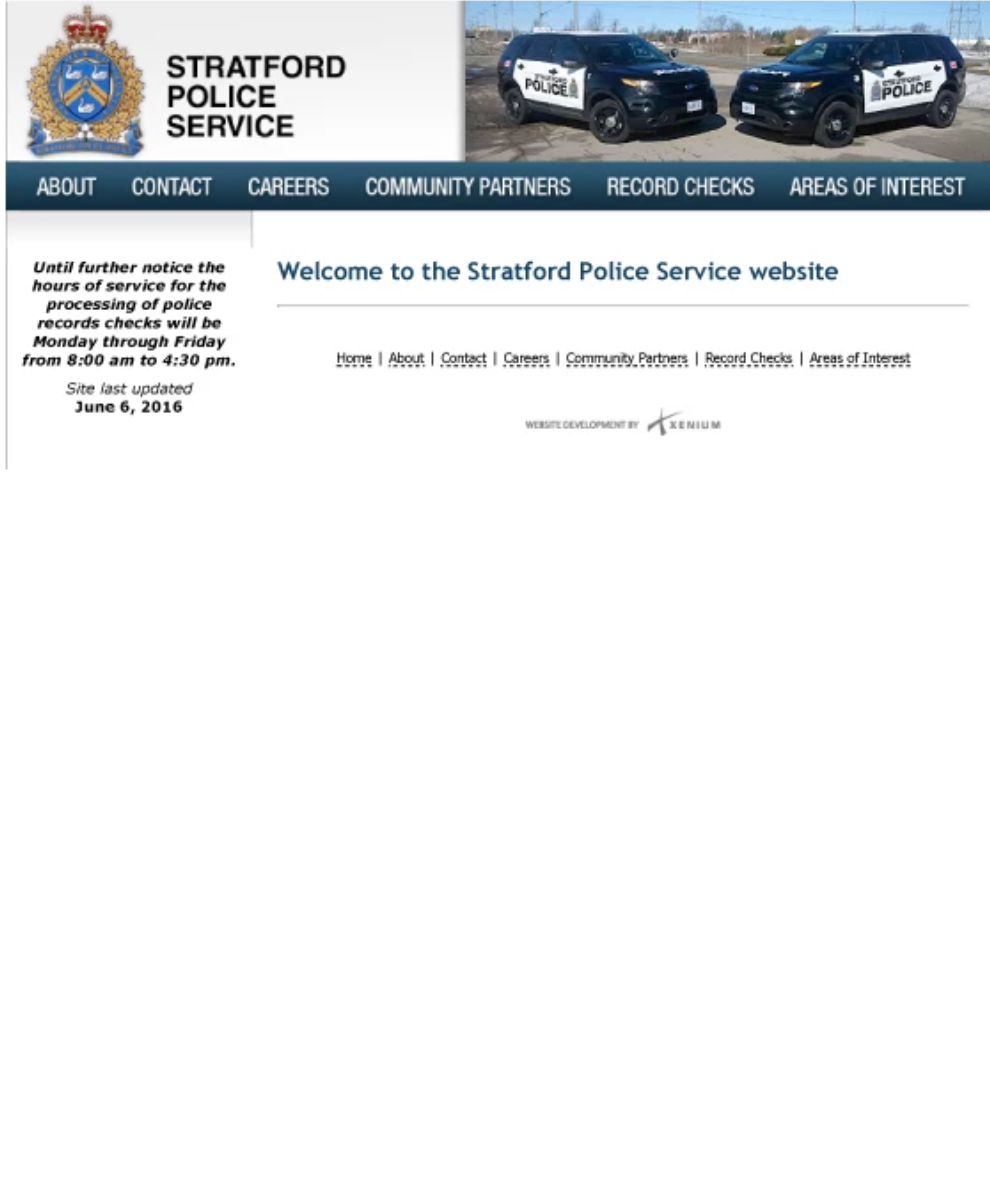 Home Page Before