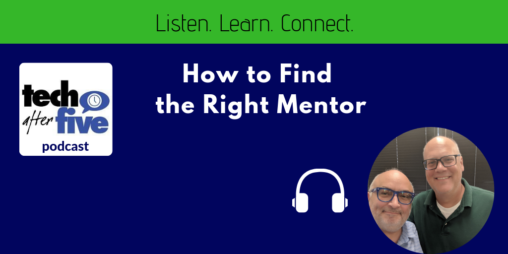 How to Find a Mentor Podcast Banner