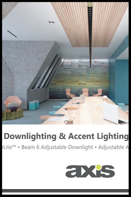 Axis 2018 Downlighting & Accent