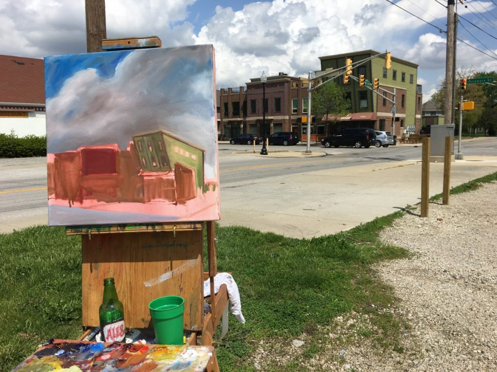 Painting in the neighborhood