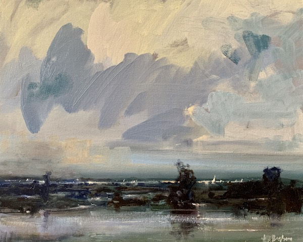 View to the Bay, Jill Tascher Basham