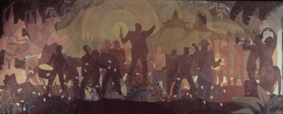 Aspects of Negro Life: From Slavery to Reconstructions,  1934, Aaron Douglas