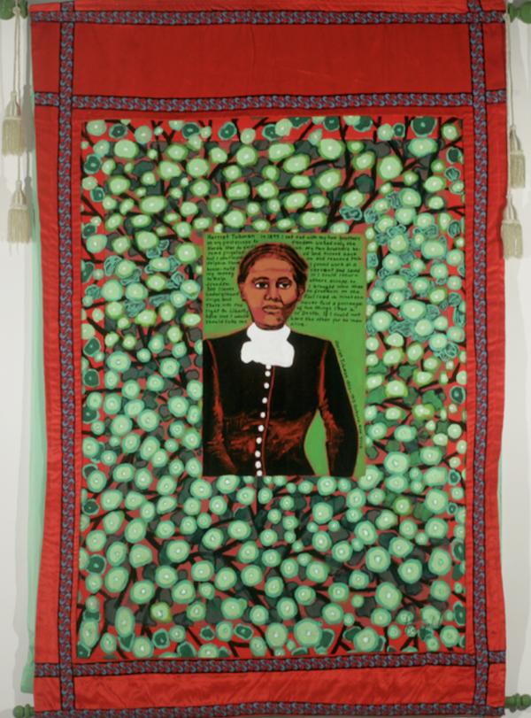 Coming to Jones Road Tanka #1 Harriet Tubman, Faith Ringgold, 2010