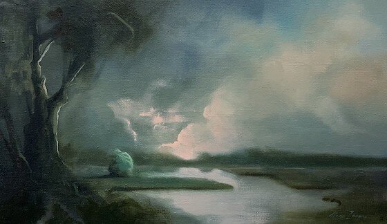 Come What May, oil on linen
