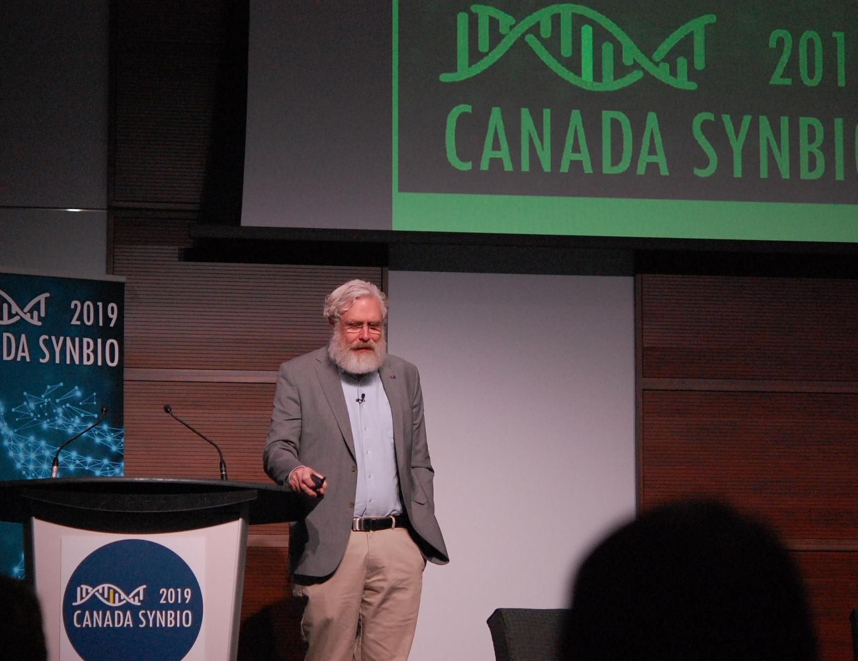 """We have banned the word impossible in my lab."" - Dr. George Church, Harvard University"
