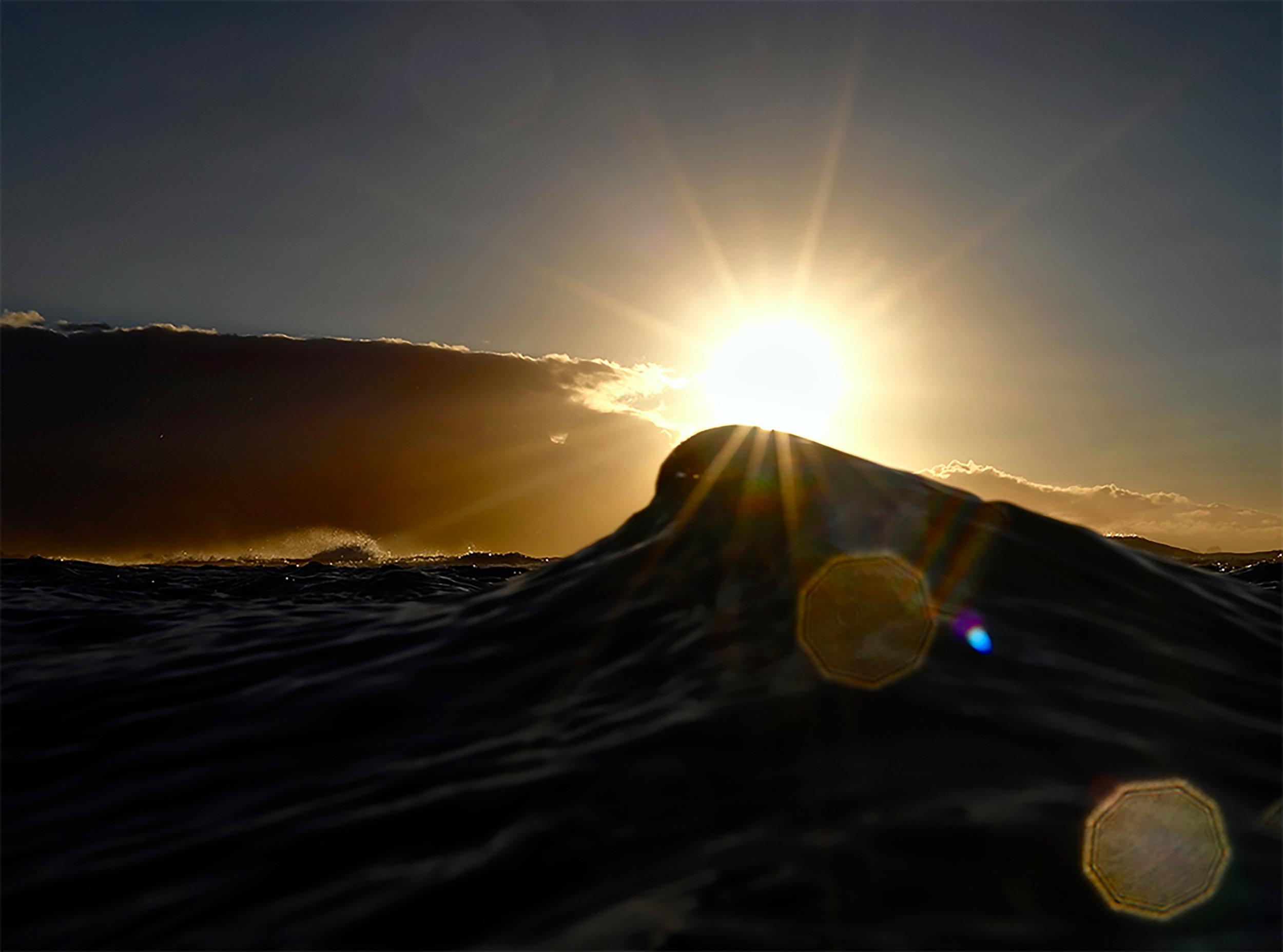 """Last Wave of the Day"" ~ Maui, Hawaii ~ no.20"